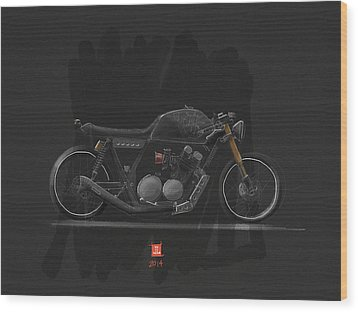 Wood Print featuring the digital art Mad Max by Jeremy Lacy