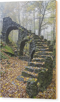 Madame Sherri Forest - Chesterfield New Hampshire Usa Wood Print