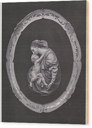 Madonna And Child Wood Print by Allan Koskela