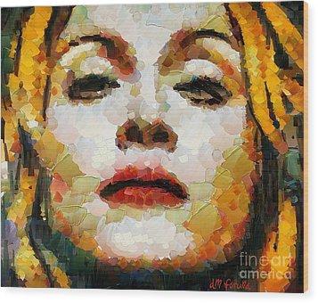 Madonna Wood Print by Dragica  Micki Fortuna