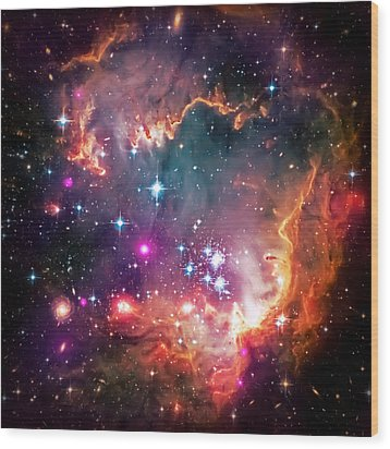 Magellanic Cloud 2 Wood Print