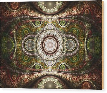 Magic Carpet Wood Print by Anastasiya Malakhova