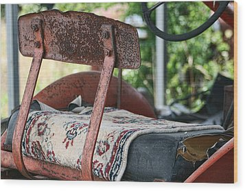Magic Carpet Ride Southern Style Wood Print by Kathy Clark