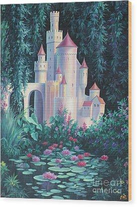 Magic Castle Wood Print