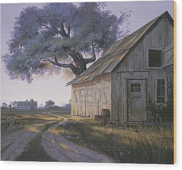 Magic Hour Wood Print by Michael Humphries