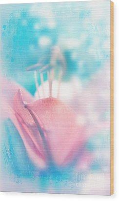 Magic Lily  Wood Print
