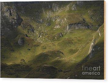 Magic Rock Wood Print