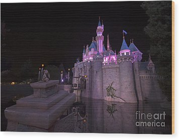 Magical Disney Wood Print