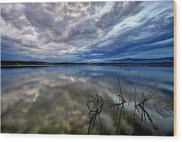Magical Lake Wood Print