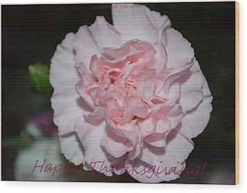 Magnetic Pink Wood Print