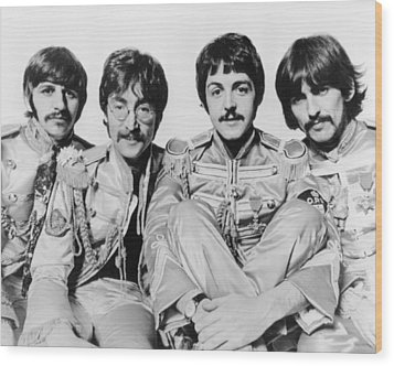 The Beatles Wood Print by Retro Images Archive