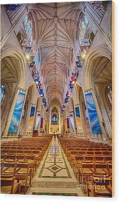 Magnificent Cathedral II Wood Print
