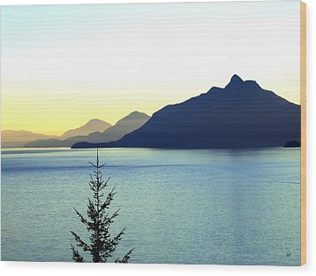 Magnificent Howe Sound Wood Print by Will Borden