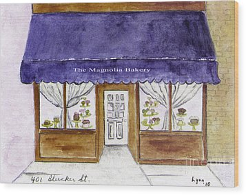 Magnolia Bakery In Greenwich Village Wood Print