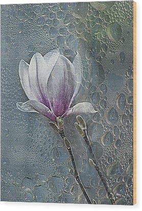 Magnolia Wood Print by Joachim G Pinkawa
