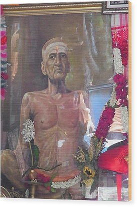 Maha Samadhi Day Wood Print
