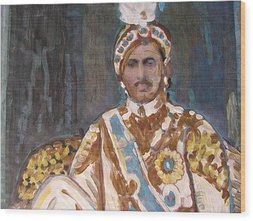 Maharaja Jai Singh Wood Print