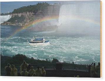 Wood Print featuring the photograph Maid Of The Mist -41 by Barbara McDevitt