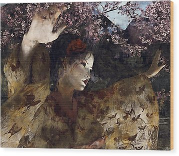 Maiko Dreams Wood Print