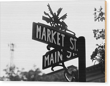 Wood Print featuring the photograph Main St Iv by Courtney Webster