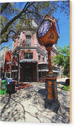 Main Street Columbia Wood Print