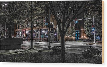 Wood Print featuring the photograph Main Street by Ray Congrove