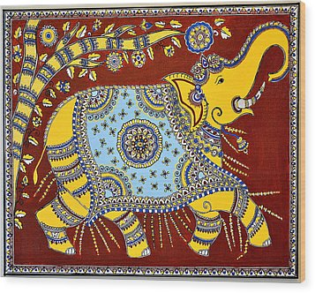 Majestic Wood Print by Deepti Mittal