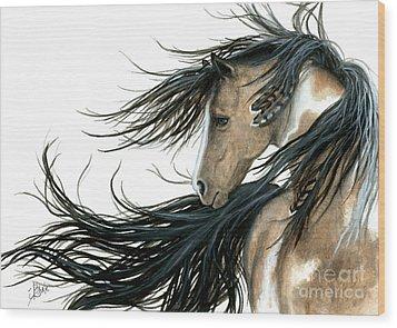 Majestic Horse Series 89 Wood Print