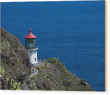 Makapuu Lighthouse 1 Wood Print