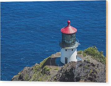 Makapuu Lighthouse 3 Wood Print