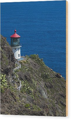 Makapuu Lighthouse2 Wood Print