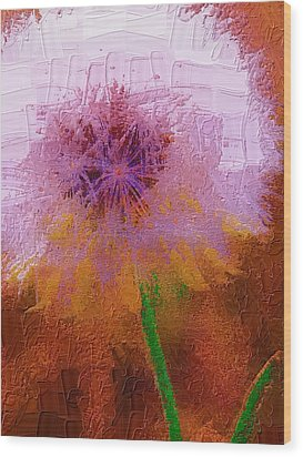 Wood Print featuring the photograph Make A Wish by Diane Miller