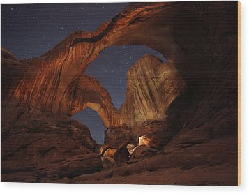 Wood Print featuring the photograph Gimme Another Double by David Andersen