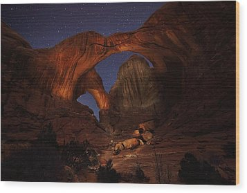 Wood Print featuring the photograph Make It A Double by David Andersen