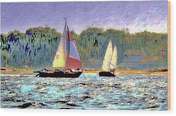 Make Some Memories  Wood Print by Rick Todaro