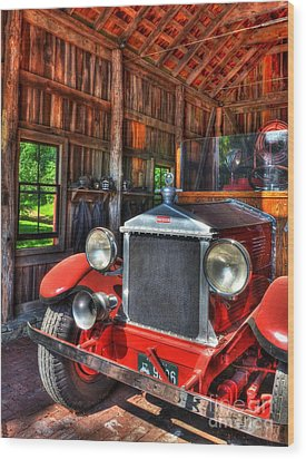 Maker's Mark Firehouse 2 Wood Print by Mel Steinhauer