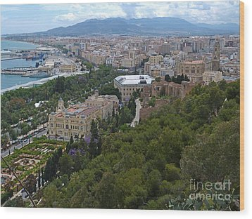 Malaga - Andalucia - Spain Wood Print