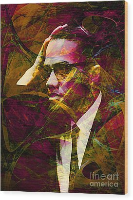 Malcolm X 20140105 Wood Print by Wingsdomain Art and Photography