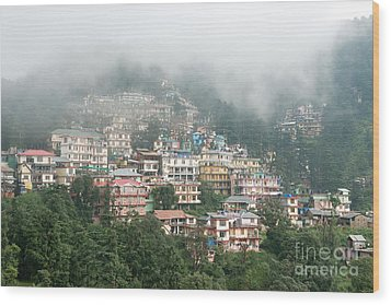 Maleod Ganj Of Dharamsala Wood Print by Yew Kwang