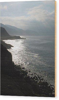 Malibu Morning Wood Print