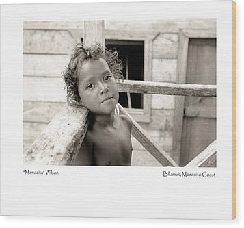 Wood Print featuring the photograph Mamacita Wilson by Tina Manley