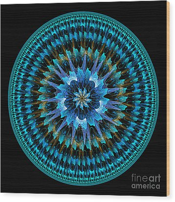 Mandala Of Peace Wood Print