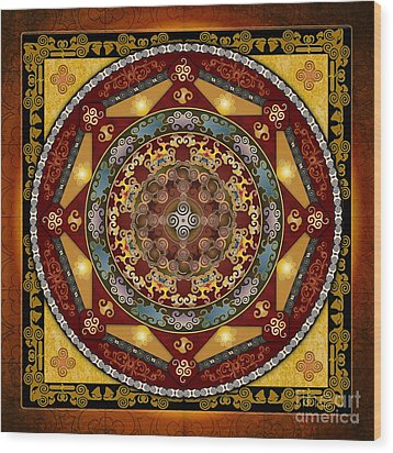 Mandala Oriental Bliss Wood Print