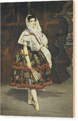 Manet, �douard 1832-1883. Lola De Wood Print by Everett