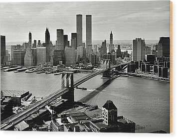 Manhattan 1978 Wood Print