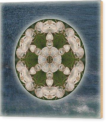 Manifesting Abundance Wood Print