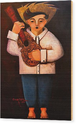 Manolito El Cuatrista 1942 Wood Print