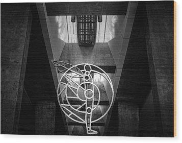 Man's Sphere Of Life Wood Print