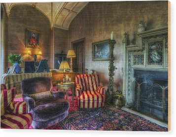 Mansion Lounge Wood Print