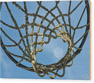 Many Baskets Made Many Moons Ago Wood Print by Lena Wilhite
